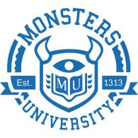 monsters university brands download vector logos