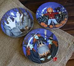 Halloween Entertaining - halloween entertaining serveware ceramic custom art halloween