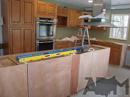 Installing A Kitchen Island Kitchen Island Cabinets