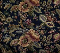 Vintage Floral Upholstery Fabric Vintage Floral Upholstery Fabric Name