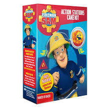 fireman sam action stations cake kit greens cakes
