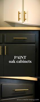 Best  Repainted Kitchen Cabinets Ideas On Pinterest Painting - Painted wooden kitchen cabinets