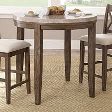 Kitchen Furniture Company Steve Silver Company Franco Marble Top Counter Table