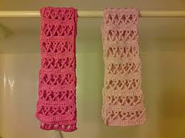 crochet ribbon ravelry crochet awareness ribbon scarf pink for breast cancer or