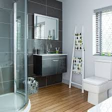 white bathroom decorating ideas modern charcoal and white bathroom decorating modern and
