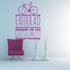 sprüche fahrrad wandtattoo fahrrad und gleichgewicht simplemente bicicletas