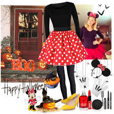 Halloween Costumes Minnie Mouse Diy Halloween Costume Minnie Mouse Polyvore