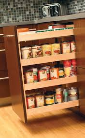 Slide Out Spice Racks For Kitchen Cabinets by 35 Best Clean U0026 Clever Storage Images On Pinterest Kitchen