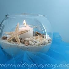 Starfish Wedding Centerpieces by A Beach Themed Wedding Centerpiece Using Sand Shells Starfish A