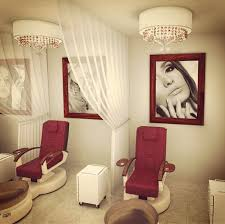nail lounge love red spa pinterest salons salon ideas and