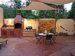 patio kitchen ideas outdoor kitchen designs with roofs modern
