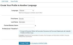 How To List Bilingual On Resume Multilingual Create A Secondary Language Profile On Linkedin