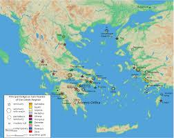 Map Of Santorini Greece by Artemis Orthia Location U2022 Mapsof Net