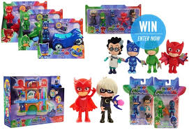 win 1 3 awesome pj masks prize packs competition
