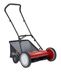 reel mowers manual lawn mowers sears