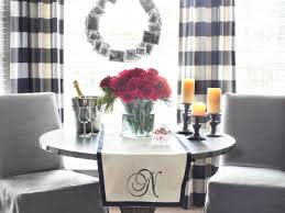 how to make a no sew monogrammed table runner hgtv