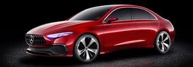 mercedes model date of the 2018 mercedes concept a sedan