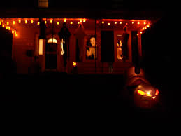 Light Up Halloween Decorations Our Halloween Decorations Colleen Dietrich Designs