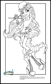 Monster Coloring Pages Getcoloringpages