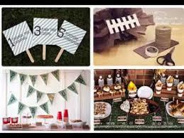 Super Bowl Decorating Ideas Diy Superbowl Party Decorating Ideas Youtube