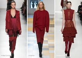 color of the year 2017 fashion fall winter 2017 2018 color trends glowsly