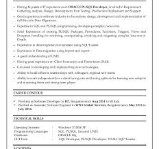 Unix Developer Resume Nice Pl Sql Developer Resume 10 Oracle Plsql Raji Resume Example