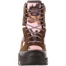 womens boots tex s pink camo tex waterproof insulated boot rocky