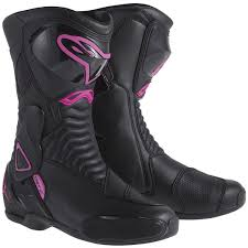 womens motorcycle boots uk alpinestars stella s mx 6 boots black pink free uk delivery