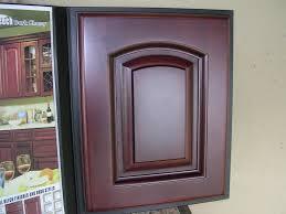 rta cabinet broker 5h beech dark cherry color arched door
