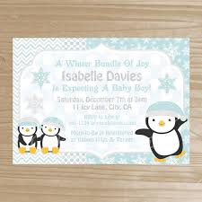 Penguin Baby Shower Decorations Baby Shower Invitations Excellent Penguin Baby Shower Invitations