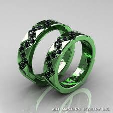 green wedding rings wedding rings for beautiful