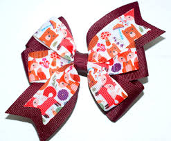 back to school hair bows barrettes