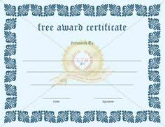 pin by certificate template on award certificate template