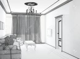sketch room glamorous 3d room sketch images best inspiration home design