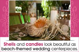 uniquely beautiful beach themed centerpieces for your wedding