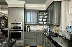 dark grey countertops with white cabinets grey countertops dragtimes info