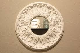fit crafty stylish and happy ceiling medallion mirror