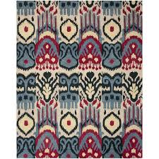 Ikat Runner Rug Safavieh Ikat Beige U0026 Blue Area Rug U0026 Reviews Wayfair