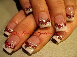 valentine glitter acrylic nail designs valentines day from kara