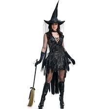 Scary Witch Halloween Costumes Buy Wholesale Scary Halloween Costumes China Scary