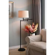 Bronze Swing Arm Table Lamp Aldrin Copper Bronze Swing Arm Floor Lamp Free Shipping Today