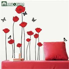 Poppy Wallpaper Home Interior Waternomicsus - Poppy wallpaper home interior