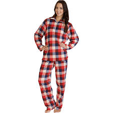 checked slenderella loungewear pjs womens soft micro fleece