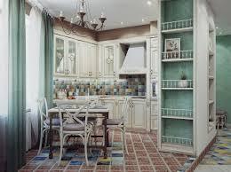 kitchen amazing shabby chic kitchen with colorful backsplash