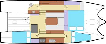 100 catamaran floor plan luxury charter yacht orion catana