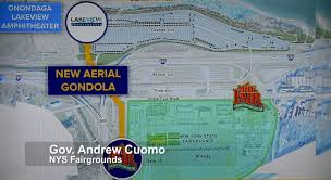 State Fair Map by Gov Cuomo Says State Fair Gondola Will Cost 15 Million