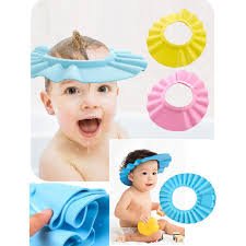 shower bathing protection soft cap hat for baby to keep the water