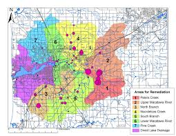Gvsu Map Water Quality Monitoring Macatawa Area Coordinating Council
