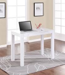 White Desk At Walmart Mainstays Parsons Desk With Drawer Black Best Home Furniture