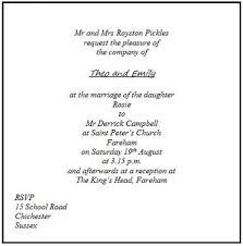 Invitation For Marriage Etiquette For Wedding Invitations Plumegiant Com